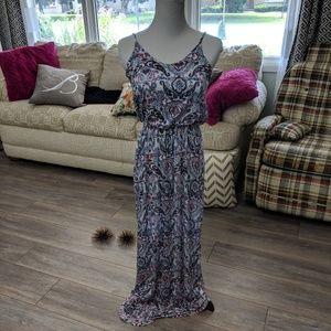Lush Paisley patterned maxi dress